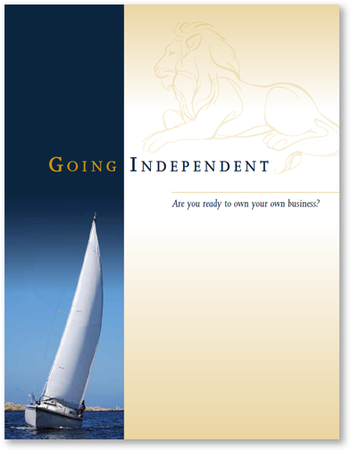 Going Independent Brochure Cover